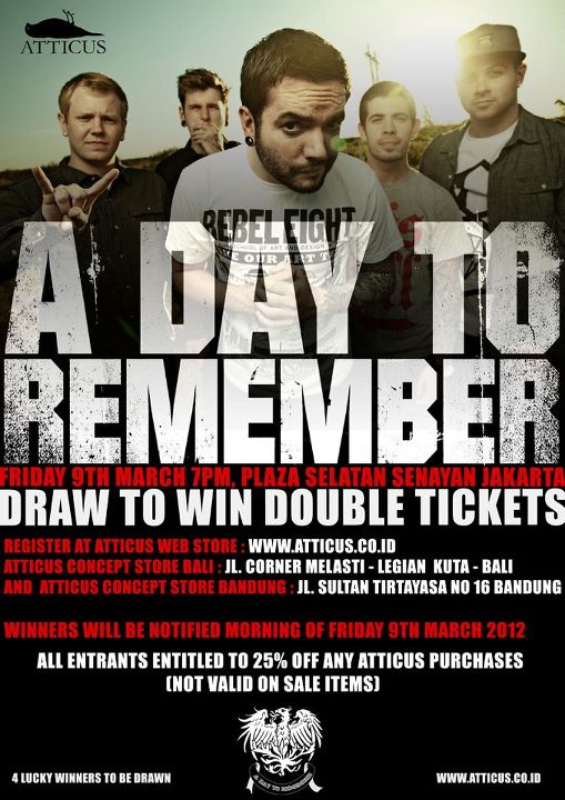 A Day To Remember Live in Indonesia | Episode 21 A Day To Remember 2012